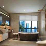 卫生间组合洗手台展示