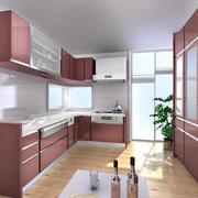 典雅大户型厨房橱柜