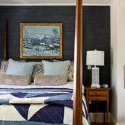 有格调的卧室墙衣