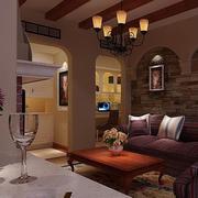 典雅温馨的小户型客厅