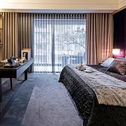 卧室气质窗帘展示