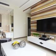 电视背景墙造型