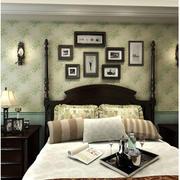 美式卧室照片墙