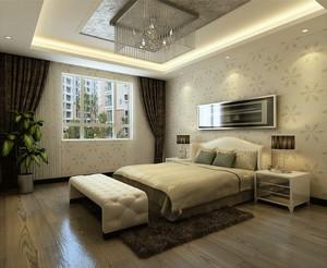 三室两厅后现代风格卧室装修效果图