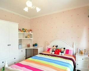 温馨甜美儿童房