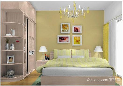 2015北欧卧室壁纸装修效果图