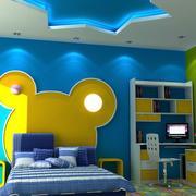 儿童房卧室背景墙展示