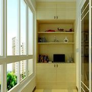 阳台鞋柜设计