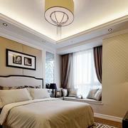 暖色调的卧室展示