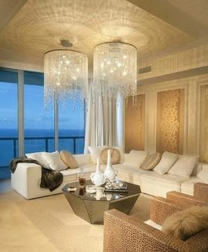 点睛之笔家居客厅灯饰装修设计效果图大全