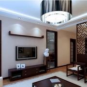 简约中式家庭走廊