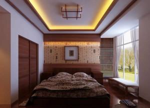 新中式风格卧室欣赏