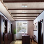 书房实木吊顶设计