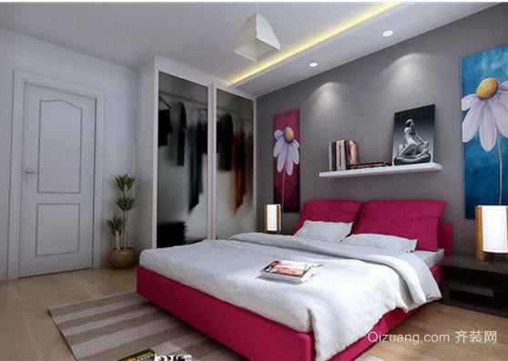 2015日式卧室壁纸装修效果图