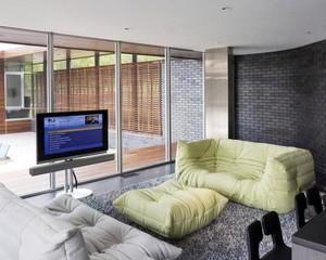 形状各异的客厅懒人沙发装修效果图