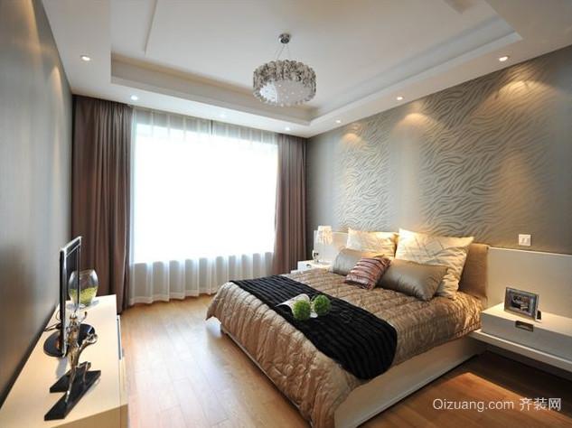 精致高雅的卧室壁纸装修效果图