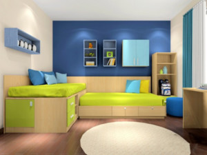 儿童卧室装潢欣赏