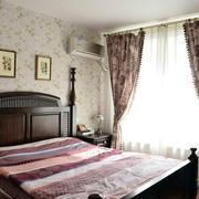 美式家居卧室飘窗