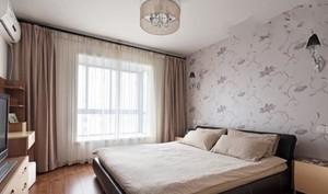 简约实用的20平米卧室墙衣装修效果图