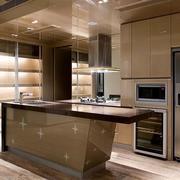 厨房个性不锈钢橱柜