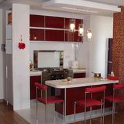 精致小户型厨房吧台