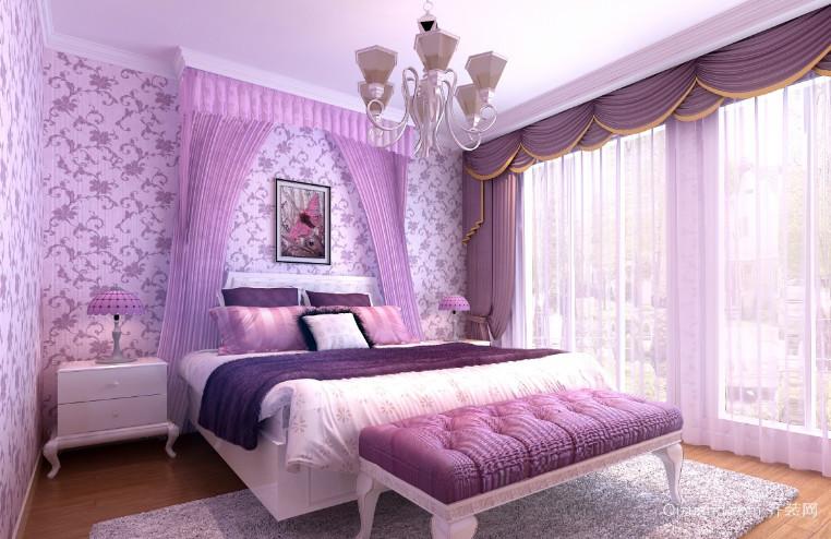 自然迷人卧室装修效果图
