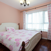 粉色简洁卧室
