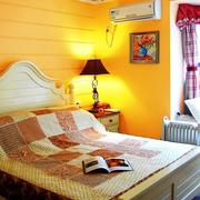 卧室黄色灯光欣赏