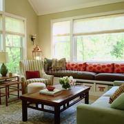 新古典的客厅飘窗