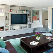 客厅组合电视书柜