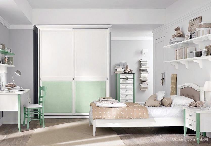 150平米跃层式住宅儿童房装修设计效果图