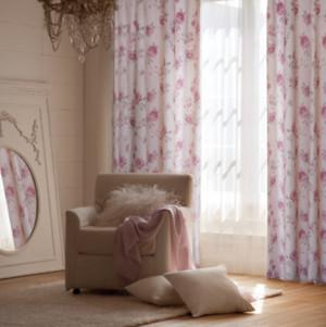 韩式田园风格两居室卧室飘窗装修效果图