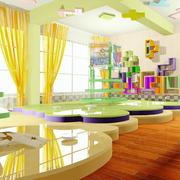 彩色靓丽的幼儿园