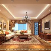 客厅简约现代吊顶