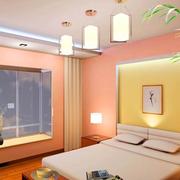 温馨现代化卧室