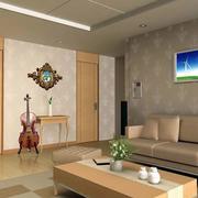 简约素雅房屋客厅