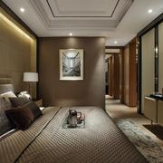 现代精巧的卧室