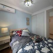 十分舒适的卧室展示