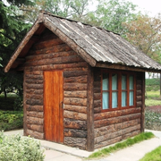 小型时尚木屋