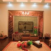 温暖色调的房屋客厅