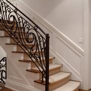 楼梯铁艺扶手展示
