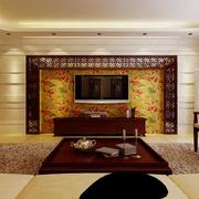 彩雕瓷砖电视墙