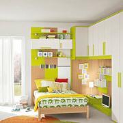 清新绿色家具儿童房