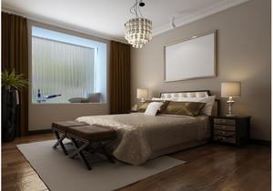 浓色调卧室设计