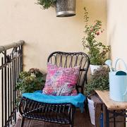 阳台休闲沙发摆放