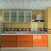 小户型一字型厨房