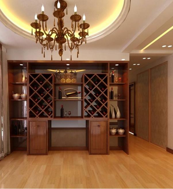 2015时尚家装现代都市欧式酒柜效果图