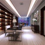 大户型家居书房书柜