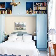 卧室床头书柜欣赏