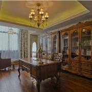 书房实木书柜